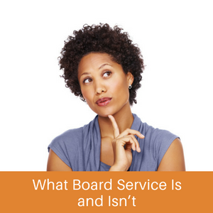 Get on Board: About Board Service