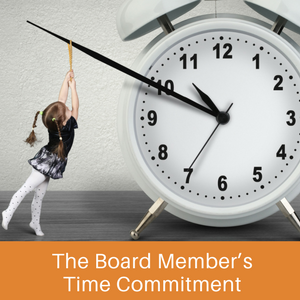 Get on Board: Time Commitment